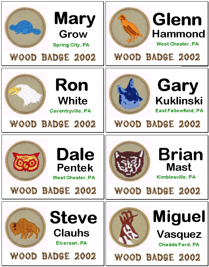 boy scout wood badge